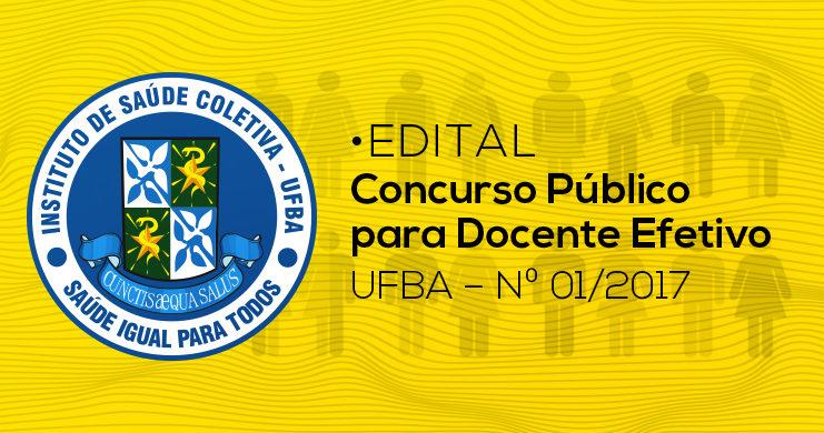 Isc instituto de sa de coletiva da ufba for Concurso docentes exterior